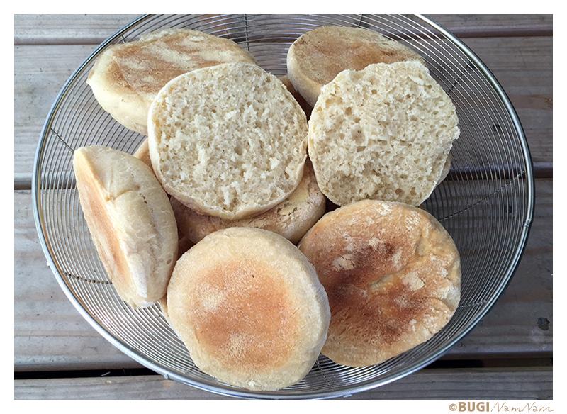 Engelish muffin opskrift