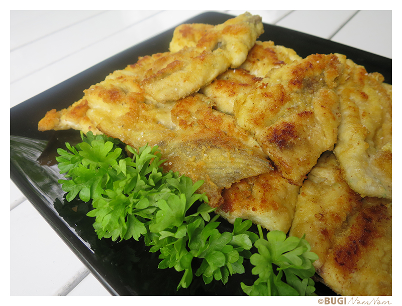 Glutenfri paneret hornfisk