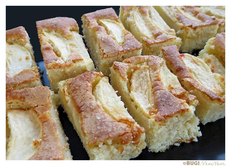 bedstemors æblekage bradepande