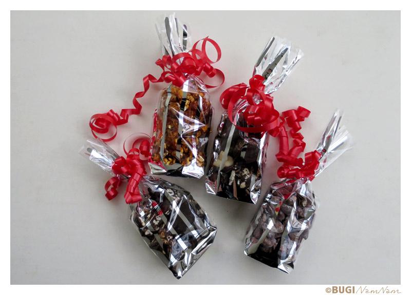 godteperser med hjemmelavet konfekt