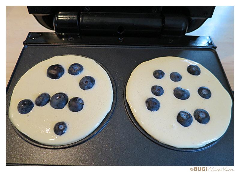 blåbær pandekager