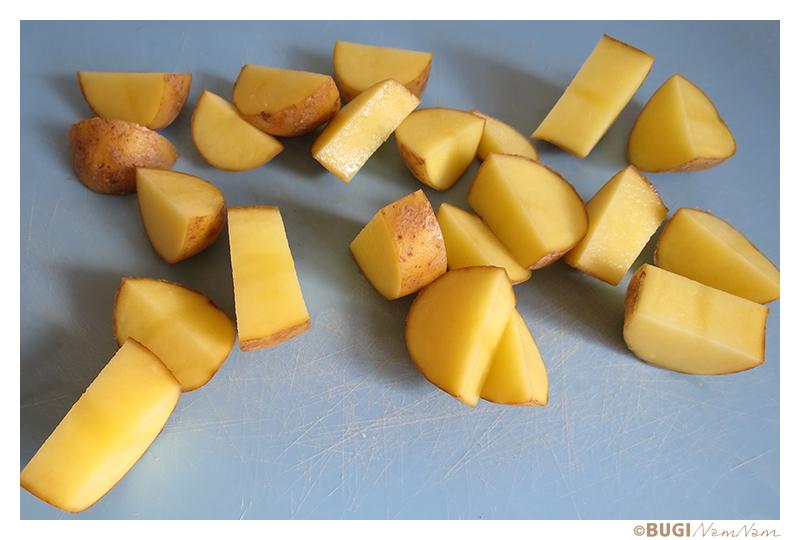 rå kartofler