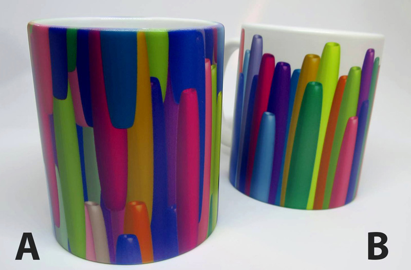 farverige krus fra BUGIstudio
