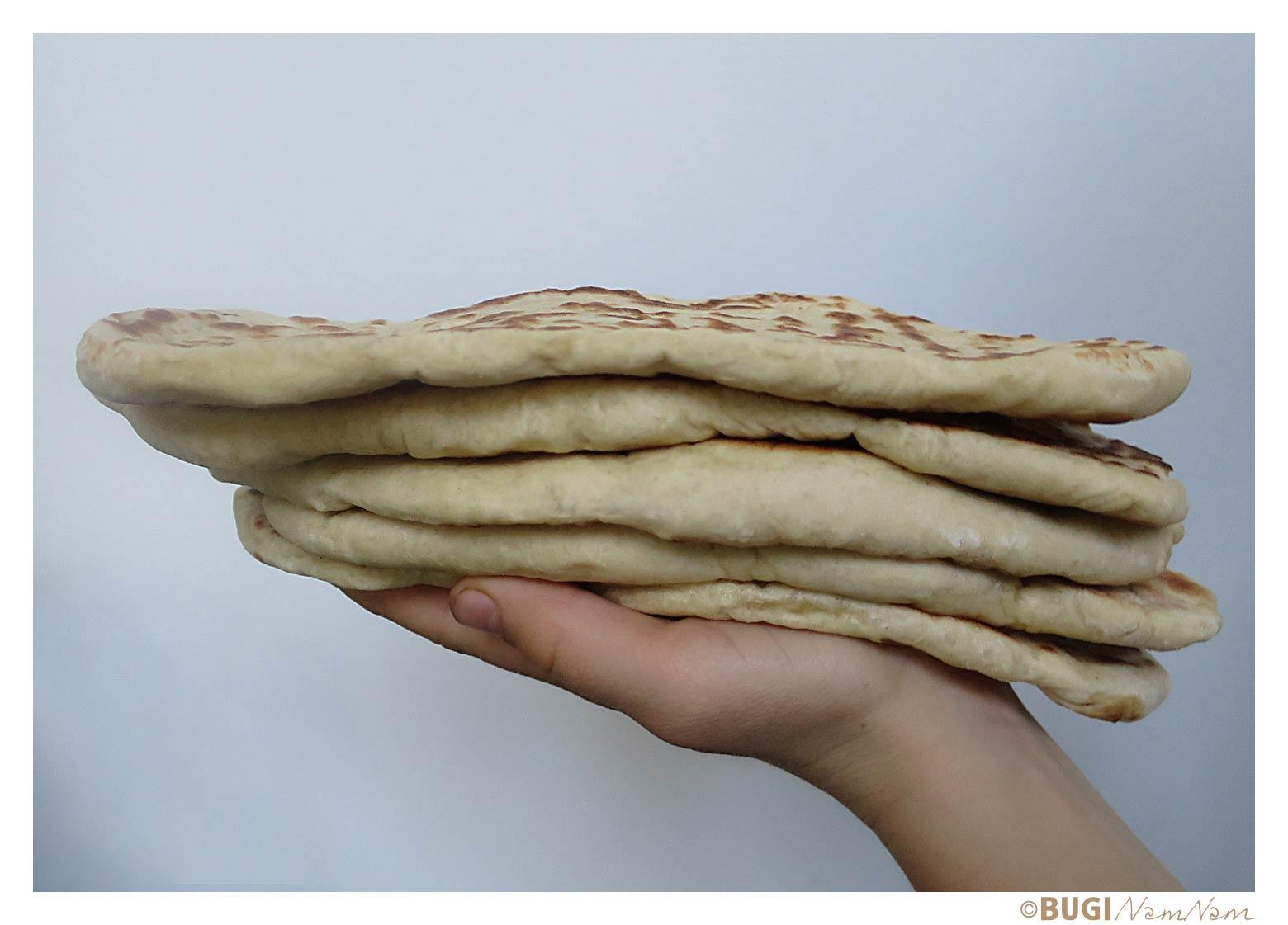 stak af naanbrød