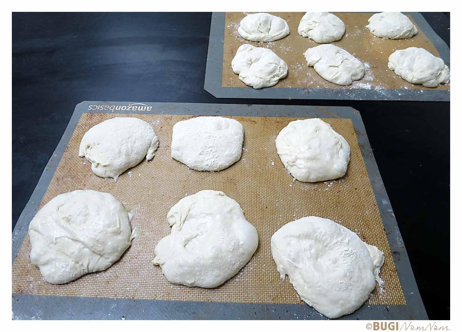 italienske boller klar til at bage